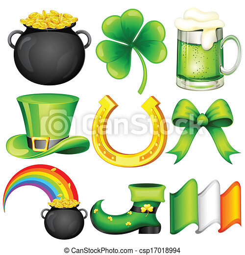 Saint Patrick's Day Object - csp17018994