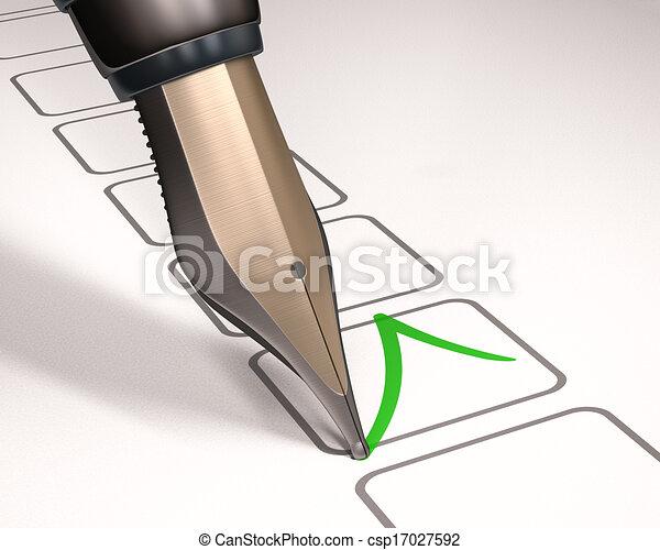 Fountain Pen - csp17027592