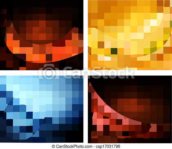 Set of business elegant colorful ab - csp17031798