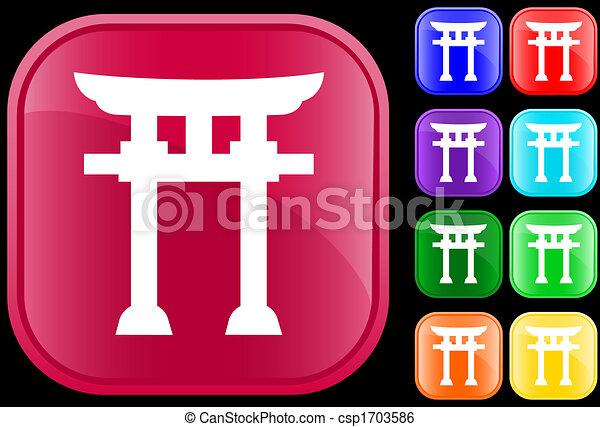 Icon of Shinto faith - csp1703586