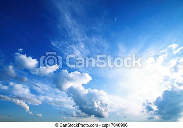 Blue Sky Background - csp17040906