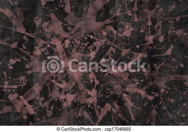Stock beeld van donker muur gebespat licht roze verf een donker csp17046665 zoek - Hoe roze verf ...