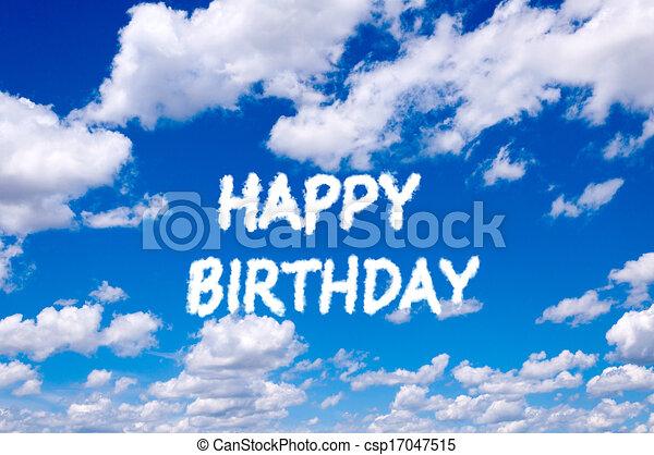 Happy birthday - csp17047515