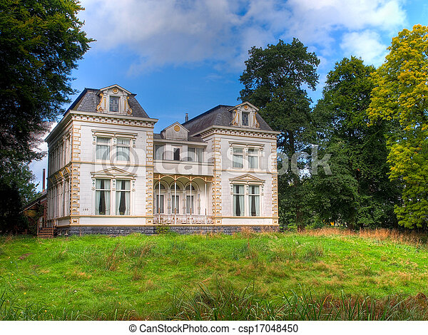 Historic White Mansion - csp17048450