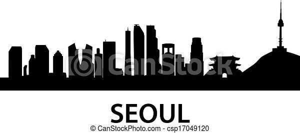 Skyline Seoul - csp17049120