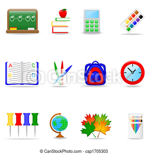 Education icon set - csp1705303