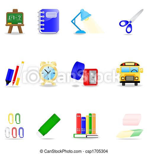 Education icon set - csp1705304