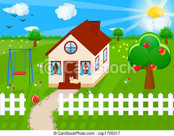 Country house - csp1705317