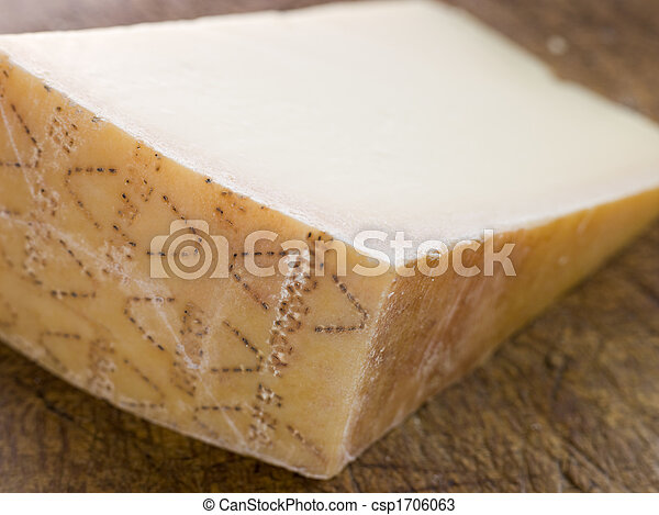 Wedge of Parmesan Cheese - csp1706063