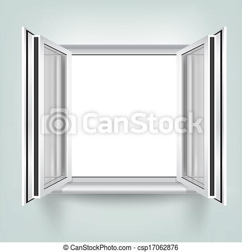 Vektoren illustration von rge ffnete fenster der for Fenster 800x800