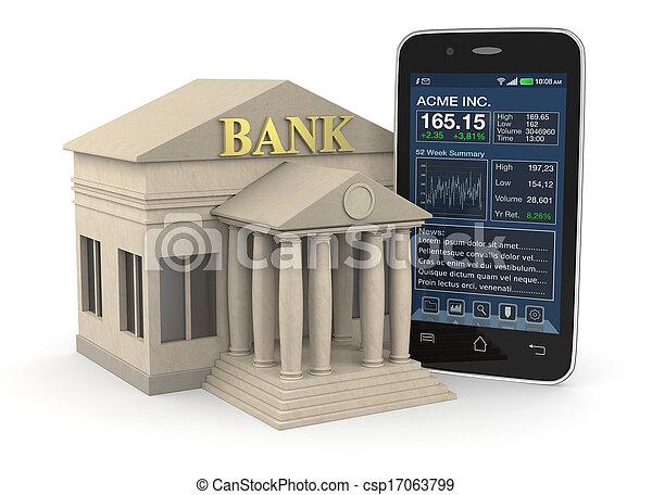 online banking - csp17063799
