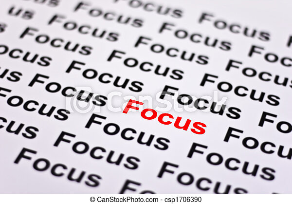 Focused on Focus - csp1706390