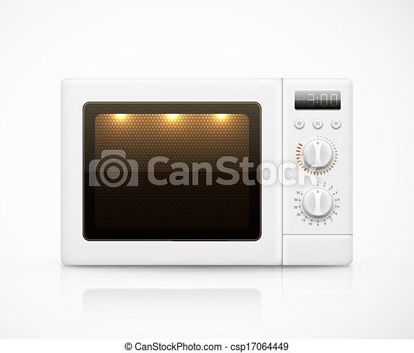 vecteur eps de isol micro ondes isol blanc micro ondes eps 10 csp17064449 recherchez. Black Bedroom Furniture Sets. Home Design Ideas