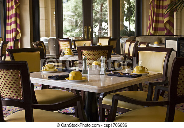 Restaurant Dining Tables Setting - csp1706636