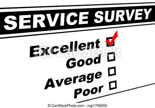 Excellent Customer Service Survey - csp1706650