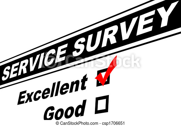 Excellent Customer Service Survey - csp1706651
