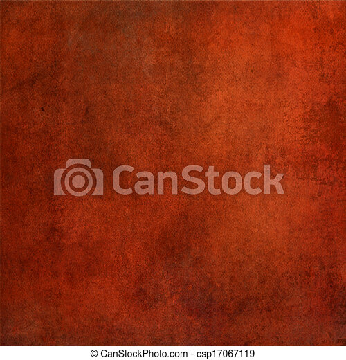 Highly detailed red grunge background  - csp17067119