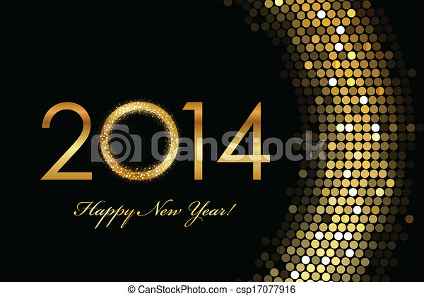 2014 Happy New Year - csp17077916