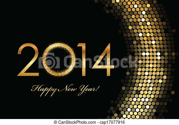 2014 Happy New Year - csp17077916