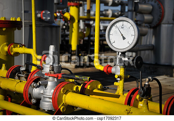 industrial pipelines and valve - csp17092317
