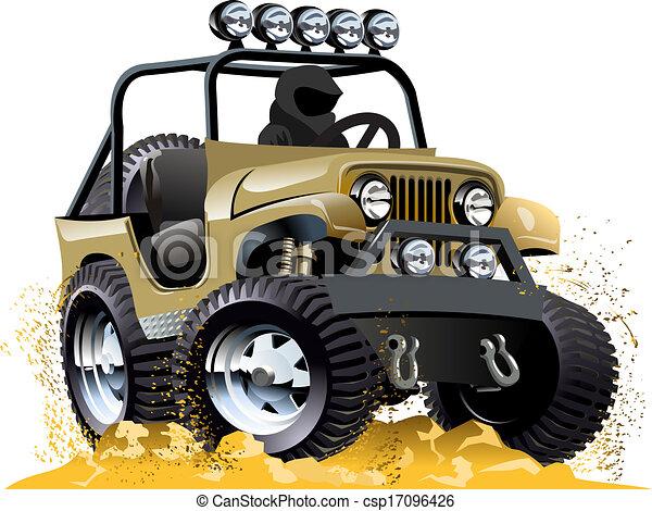 comment dessiner une jeep
