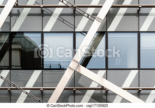 Detail View of an abstract modern building - csp17105920