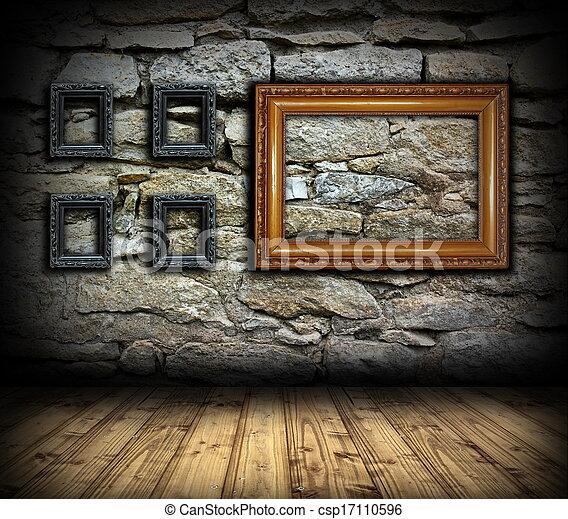 돌, 벽, 나무, 그림, 구조 - 돌, 벽, 늙은, 나무,... csp17110596의 스톡 ...