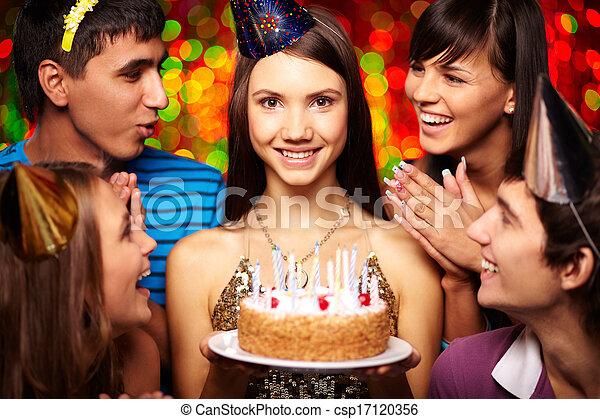 黨, 生日 - csp17120356