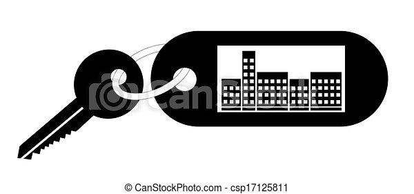 clip art vecteur de appartement symbole vecteur csp17125811 recherchez des images graphiques. Black Bedroom Furniture Sets. Home Design Ideas