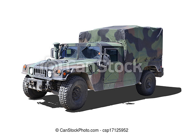 Military Humvee - csp17125952