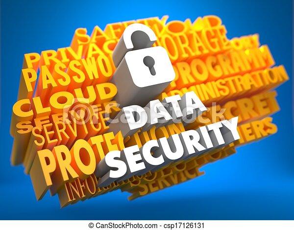 Data Security Concept. - csp17126131