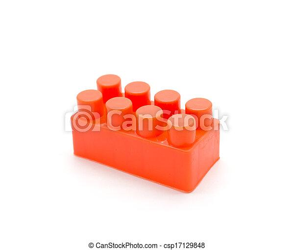 Lego plastic building blocks