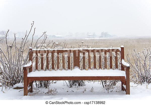 Beautiful winter landscape ecology park in south korea, SORE