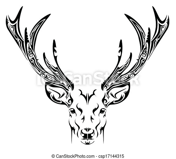 Hand Drawn Heart Clipart also Free Folk Art Painting Patterns in addition Patent Africa moreover Keep Calm And Color On moreover Abstract Deer Head Tribal Tattoo 17144315. on country home designs