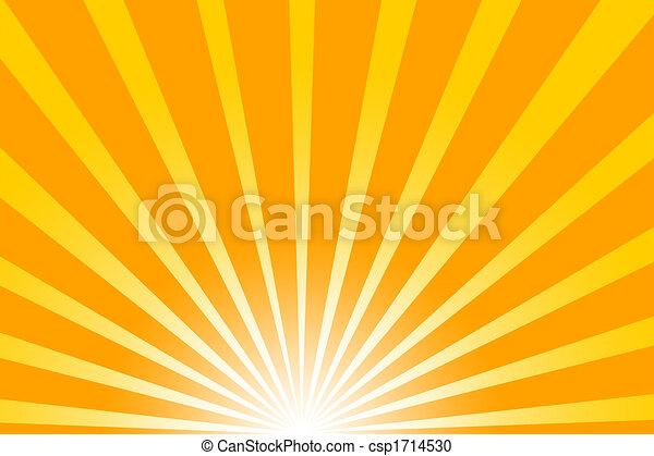 Hot summer sun - csp1714530