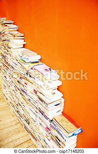 Book in the bookstore