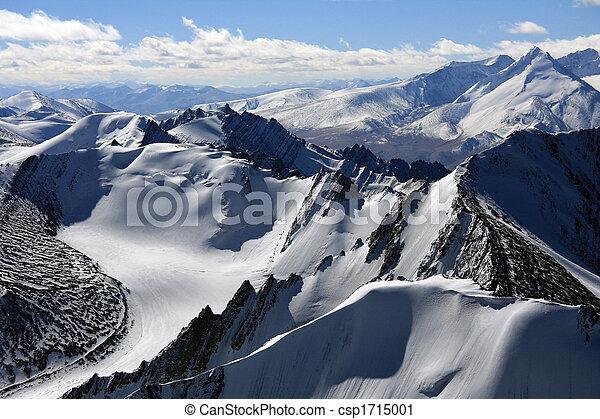 Mountain Peaks - Himalaya, India - csp1715001