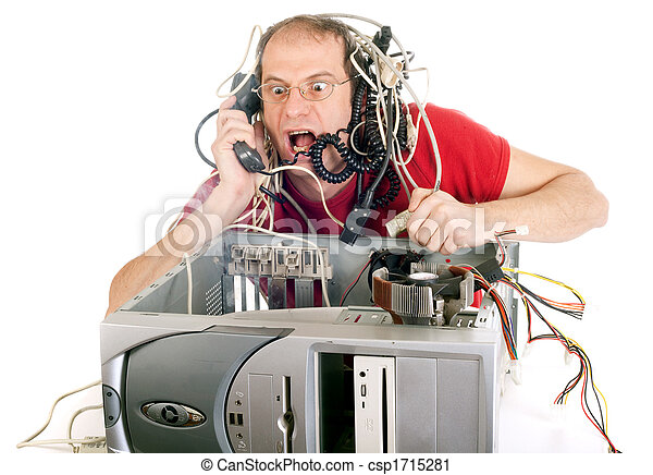 tecnologia, panico - csp1715281