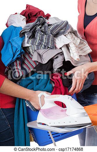 Heap of laundry