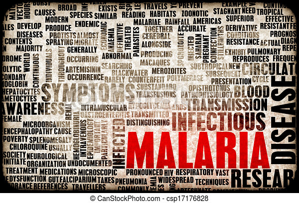 Stock Illustration - Malaria