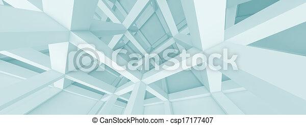 Panoramic Architecture Concept - csp17177407