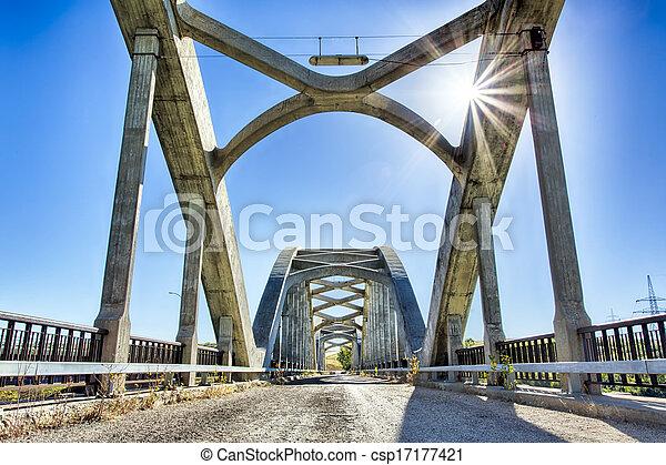 Bridges over the River - csp17177421