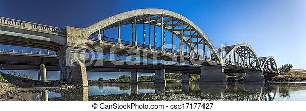 Bridges over the River - csp17177427