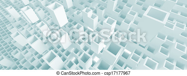 Panoramic Architecture Concept - csp17177967