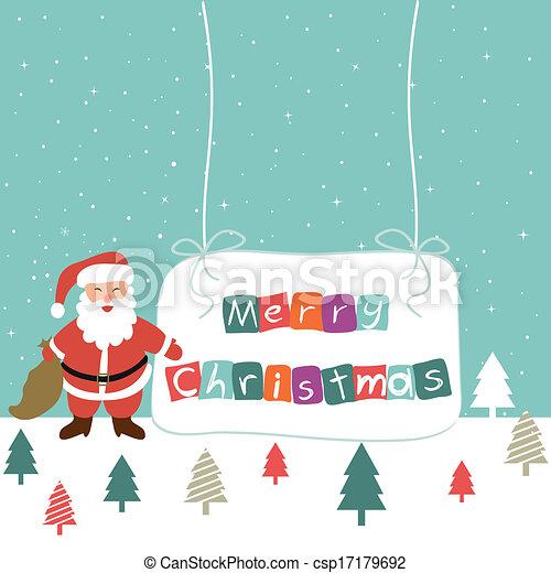 Merry Christmas - csp17179692