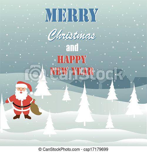 Merry Christmas - csp17179699