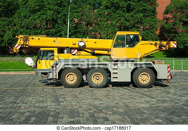 Automobile crane - csp17188017