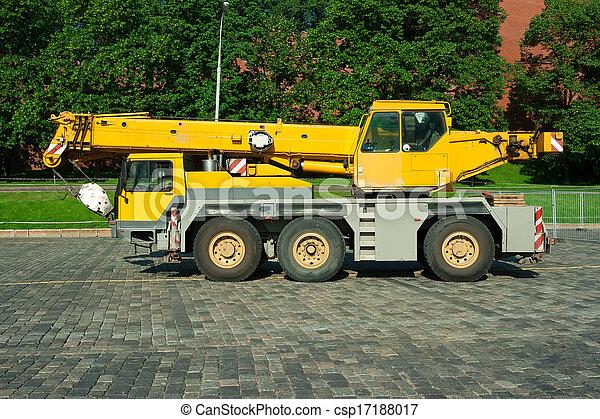 Automobile crane - csp17188017