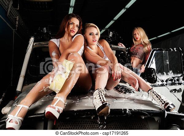Playboy Frauen von Dessous