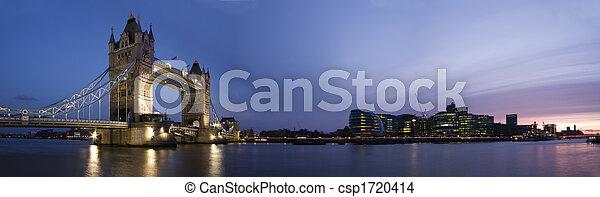 London Panorama - csp1720414